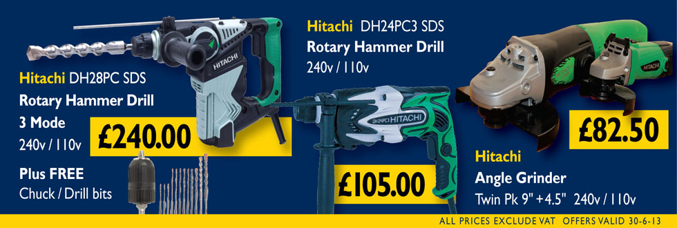 Hitachi Drills